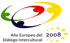 Logotipo Año Europeo del Diálogo Intercultural